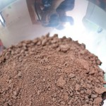 Puf, la aparat pozând cu talent ciocolata