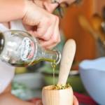 Adăugăm ulei de măsline