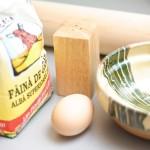 Ingredientele pentru tăiţei