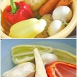 Între timp, putem să pregătim legumele