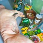 Ingrediente pentru marinarea purcelului.