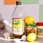 Ingredientele pentru hummus