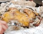 Spargem crusta de sare şi scoatem găina