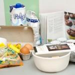 Ingrediente pentru aluat de brioşe