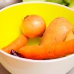Legumele pentru supă