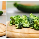 Broccoli se taie în bucheţele, apoi...