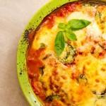 Melanzane alla parmigiana, preparat după reţeta originală