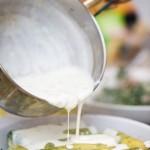 Turnam peste cannelloni sosul de gorgonzola