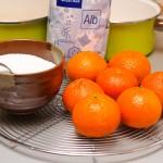 Zahăr, mandarine, apă, foc, răbdare, osmoză.