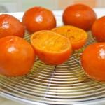 Mandarinele se pot lasă la scurs până la 2- 3 săptămâni dar numai în condiţii controlate. Acasă, se pot păstra în frigider cu sau fără sirop dar se verifică periodic.