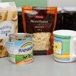 Ingrediente pentru macarons şi dulce de leche.