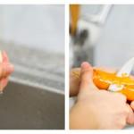 Spălăm şi curăţăm morcovul