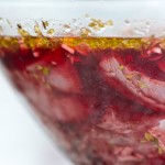 Carnea inecată în marinadă