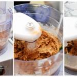 Peste amestecul deja cremos se adaugă ouăle şi se mai învârte oleacă.