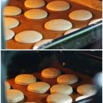 Se lasă la uscat până fac crustă apoi se bagă la cutor la 150 grade cu uşa deshisă pentru eliminarea umidităţii.
