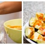 Stropim cubuleţele de vinete cu sos din belşug