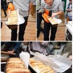 Bogdan şi pâinea frântă cu scorţişoară.
