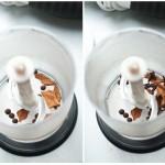 În vasul mic al robotului de bucătărie se dau rapid (şi cu întreruperi) cuişoarele, ienibaharul, scorţişoara.