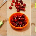 Avocado, cireşe, pepene galben.