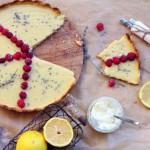 Tartă uşoară cu zmeură şi lemoncurd infuzat cu lavandă- Ana Maria Stanciu,  Blog cu Legume