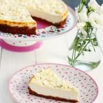 Cheesecake cu lavandă şi ciocolată albă- Andreea Niţu, Taste bazaar.