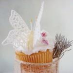 Cupcakes cu portocală şi lavandă- Rita Oarga, Comori delicioase